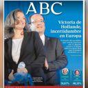 A la Une de ABC, le 7 mai 2012.