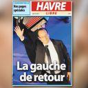 A la Une du Havre Libre, le 7 mai 2012.