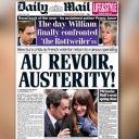 A la Une du Daily Mail, le 7 mai 2012.