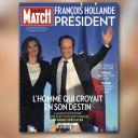 A la Une de Paris Match, le 7 mai 2012.