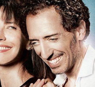Sophie Marceau et Gad Elmaleh dans 'Un bonheur n'arrive...