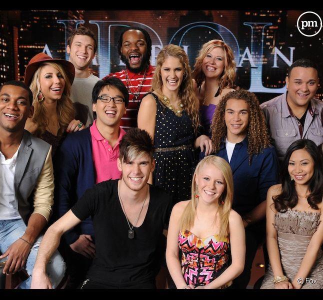 "Les 13 finalistes d'""American Idol"" 2012"