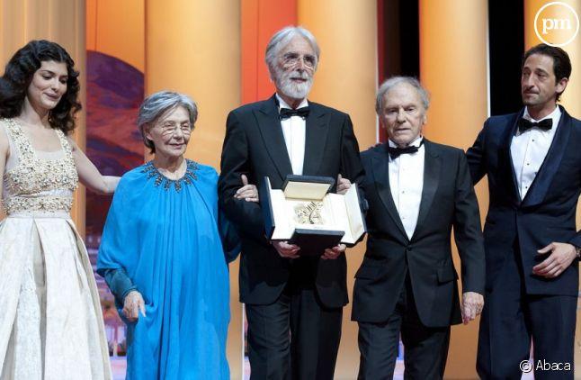 La Palme d'Or du 65e Festival de Cannes