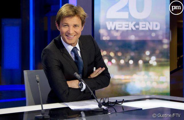 Laurent Delahousse apparaît comme le mieux placé pour remplacer Laurence Ferrari au 20 heures de TF1.