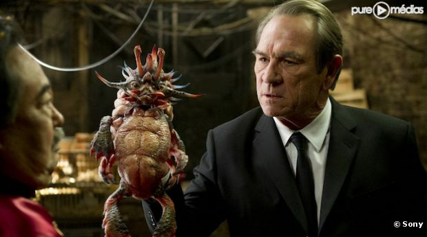 "Tommy Lee Jones dans ""Men In Black 3"""
