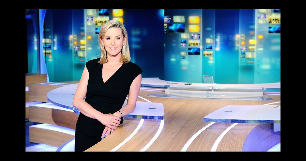 laurence ferrari invit e du grand journal de canal. Black Bedroom Furniture Sets. Home Design Ideas