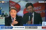 Zapping : Jean-Luc Mélenchon quitte le direct sur BFM TV à l'arrivée de Marine Le Pen