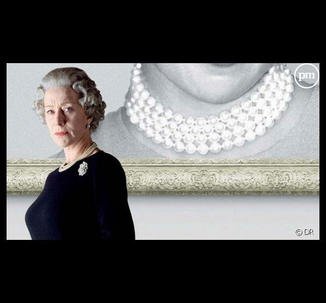 """Helen Mirren sur l'affiche du film """"The Queen"""""""