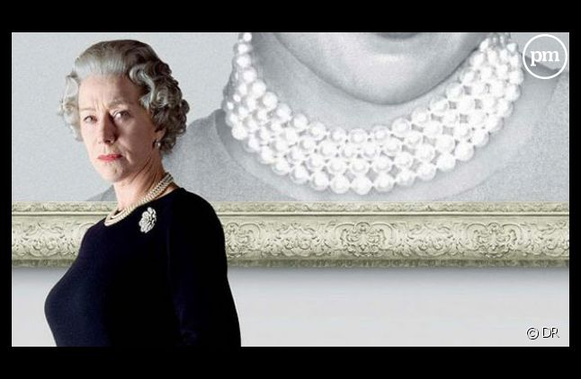 "Helen Mirren sur l'affiche du film ""The Queen"""
