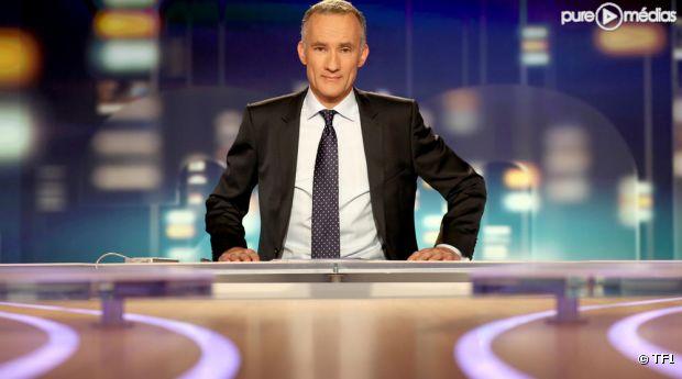 Gilles Bouleau est titularisé au 20 heures de TF1.