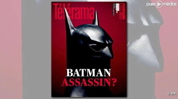 """La Une de Télérama consacrée au film """"The Dark Knight Rises"""""""