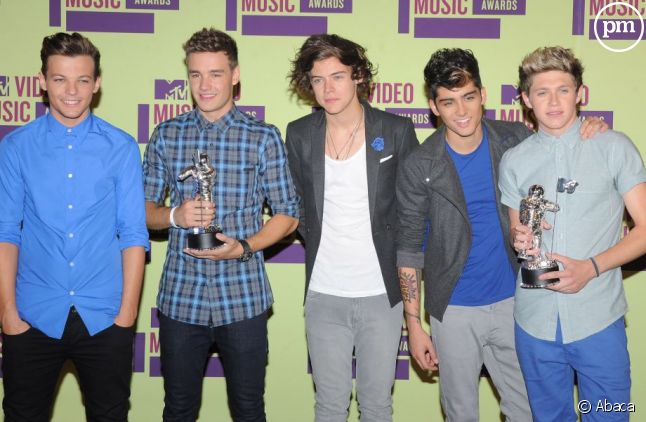 Le groupe One Direction a gagné trois récompenses aux MTV Video Awards.