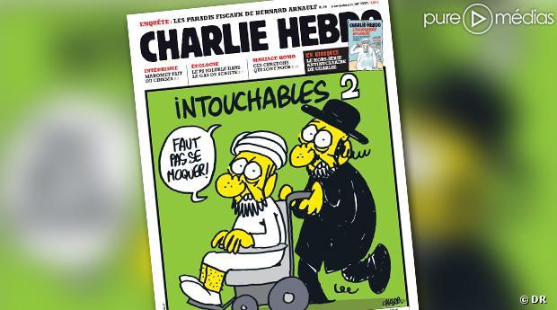 La Une de Charlie Hebdo, le 19 septembre 2012.