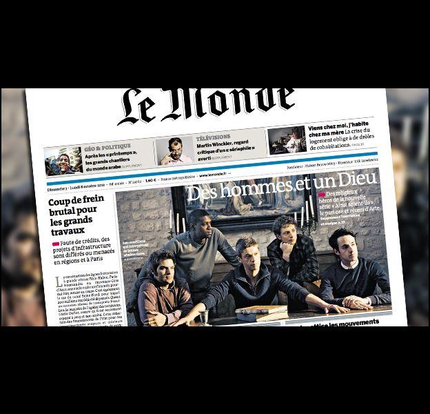 """La Une du quotidien """"Le Monde"""", daté du 6/7 octobre 2012."""