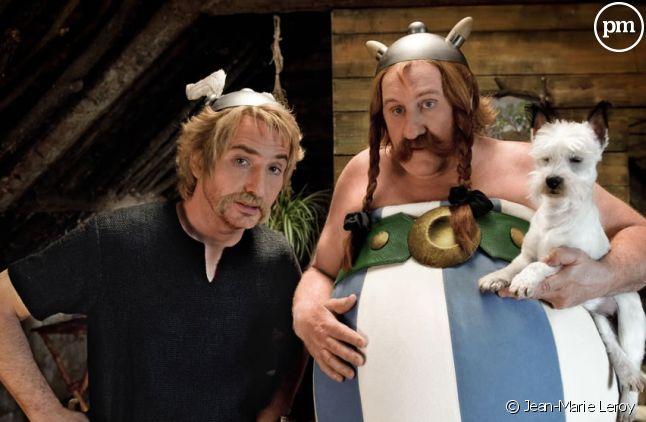 """Edouard Baer et Gérard Depardieu dans """"Astérix et Obélix au service de sa majesté"""""""