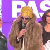 Zapping : Thomas Hugues chante déguisé en mac bling-bling !