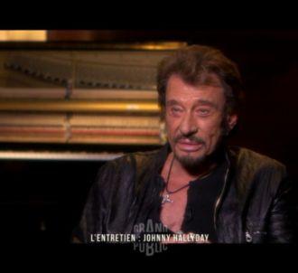 Johnny Hallyday dans 'Grand Public' sur France 2.