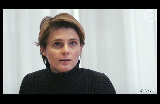 La journaliste et essayiste Caroline Fourest a été prise à partie lors d'une manifestation d'opposition au mariage pour tous