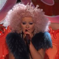 Zapping : 3 jours, 3 lives pour Christina Aguilera dans