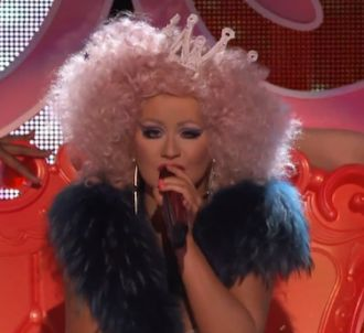 Christina Aguilera et Cee Lo Green interprètent 'Make The...