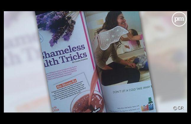 Le montage douteux d'un magazine anglais.