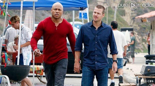 """LL Cool J et Chris O'Donnell dans """"NCIS : Los Angeles"""", dont un spin-off est en préparation"""