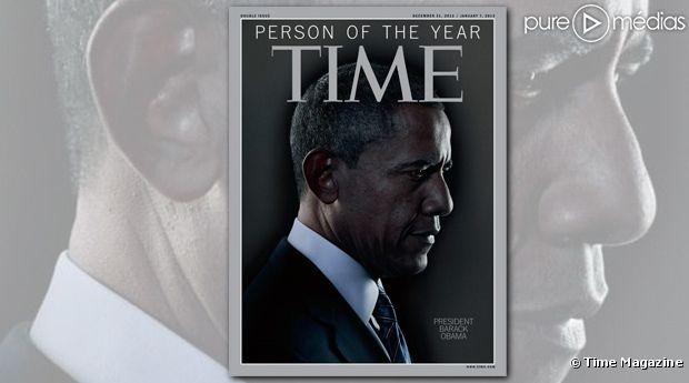 """Barack Obama est l'homme de l'année 2012 pour """"Time Magazine"""""""