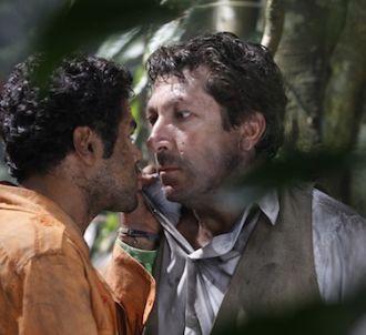 Jamel Debbouze et Alain Chabat dans 'Sur la piste du...