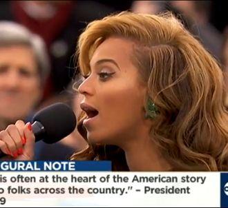 La chanteuse R'n'B a livré une interprétation poignante...