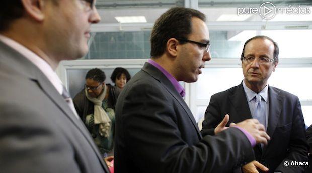 Sébastien Pietrasanta avait accueilli une rencontre avec François Hollande en 2011 dans sa municipalité.