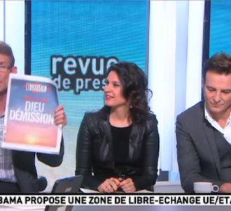 Léon Mercadet s'emporte sur la Une de Libération