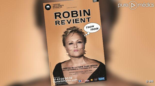 Muriel robin de retour sur sc ne en septembre 2013 for Muriel robin le salon de coiffure