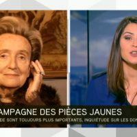 Zapping : Bernadette Chirac recadre une journaliste d'i-Télé en direct