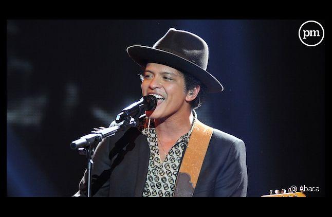 """Bruno Mars est l'invité d'honneur de la """"Star Academy"""""""