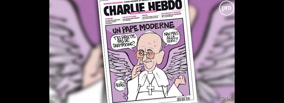 Nabilla en Une de Charlie Hebdo.