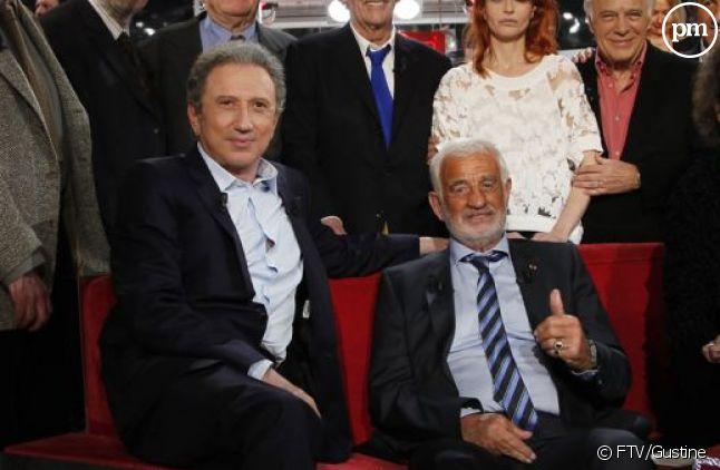 """""""Vivement dimanche"""" spécial Belmondo, le 14 avril 2013"""