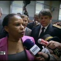 Christiane Taubira agacée par une question hors sujet d'une journaliste