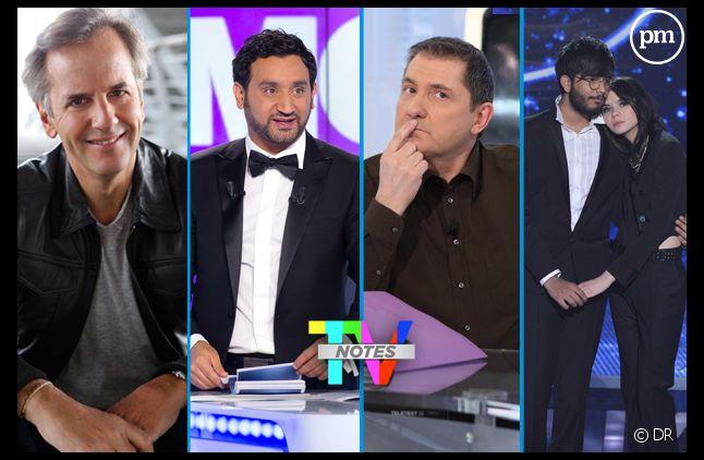 """Les émissions plébiscitées lors de la grande enquête """"TV Notes"""" 2013."""
