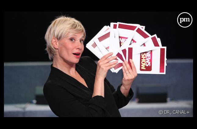 """Maïtena Biraben anime la nouvelle version du """"News Show"""" dès ce soir sur Canal+"""