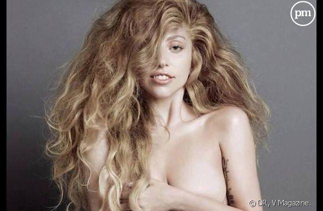 """Lady Gaga dans """"V Magazine""""."""