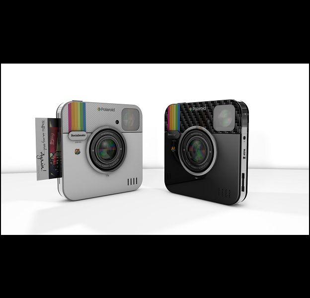 """Socialmatic"" : l'appareil photo de Polaroid et Instagram"
