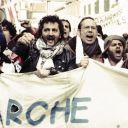 """""""La Marche"""" avec Jamel Debbouze."""