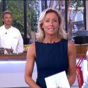 """Anne-Sophie Lapix dans """"C à vous"""", la première du 2 septembre 2013."""
