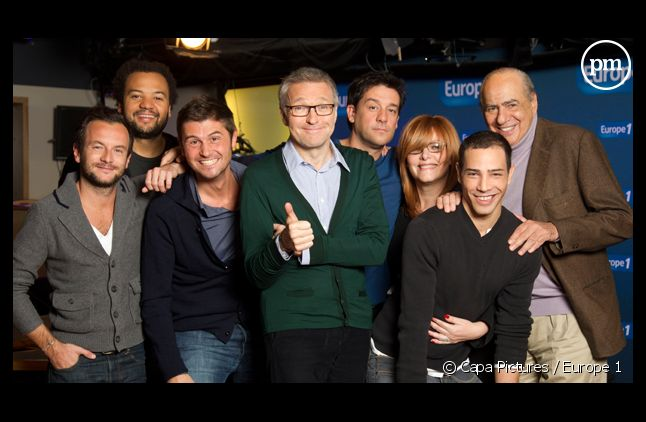 "Laurent Ruquier et sa bande ""On va s'gêner"" à Europe 1."