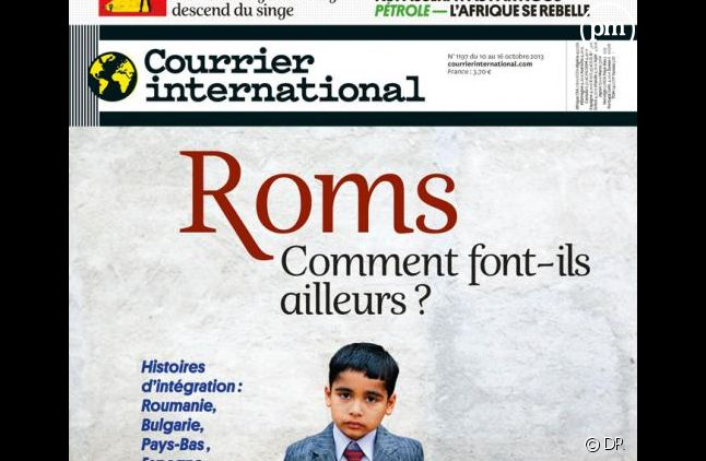 """L'hebdo """"Courrier International""""."""
