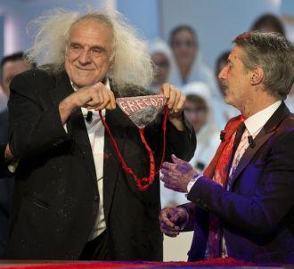 'Le Grand Journal' avec Antoine de Caunes et José Garcia.