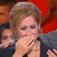 Lara Fabian en larmes dans