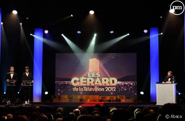 Les Gérard de la télévision, en 2012.