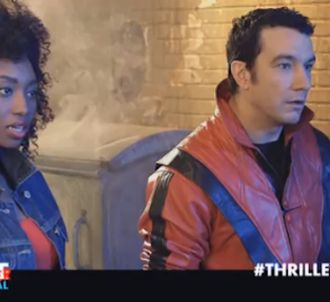 Thomas Thouroude refait le 'Thriller' de Michael Jackson.