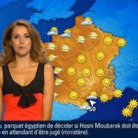 Fanny Agostini, miss météo de BFMTV, candidate aux municipales 2014